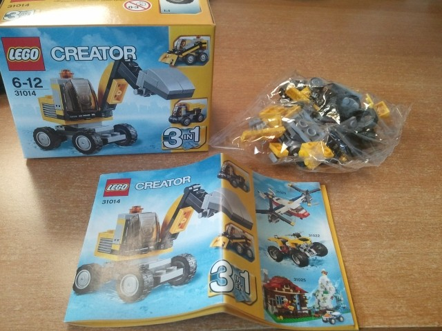 LEGO build-in-the-bag 1