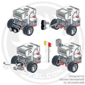 LEGO EV3 modular robot
