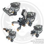 LEGO NXT modular robot