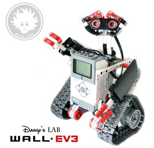 LEGO Wall-e made with EV3