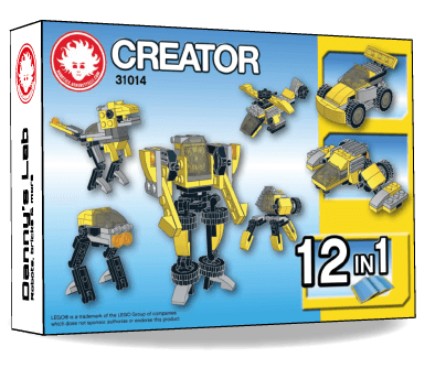 Preview of the alternative models for LEGO Creator 31014