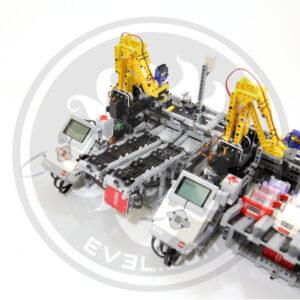 LEGO Car Factory MINDSENSORS devices