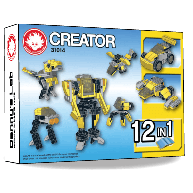 Preview of the alternative LEGO Creator instructions 31014