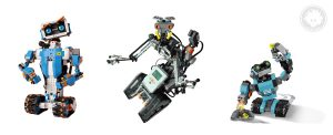 LEGO BOOST Vernie resembles Johnny 5 as well as the LEGO Creator robot 31062.