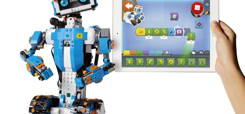 LEGO BOOST app with Vernie the Robot