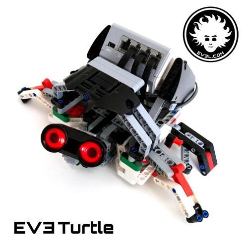 A LEGO MINDSTORMS Education EV3 Turtle