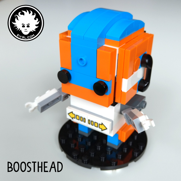 BOOSTHEAD: a LEGO BOOST BrickHeadz mascotte