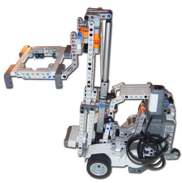 Lego Forklift With Linear Actuator Dannys Lab