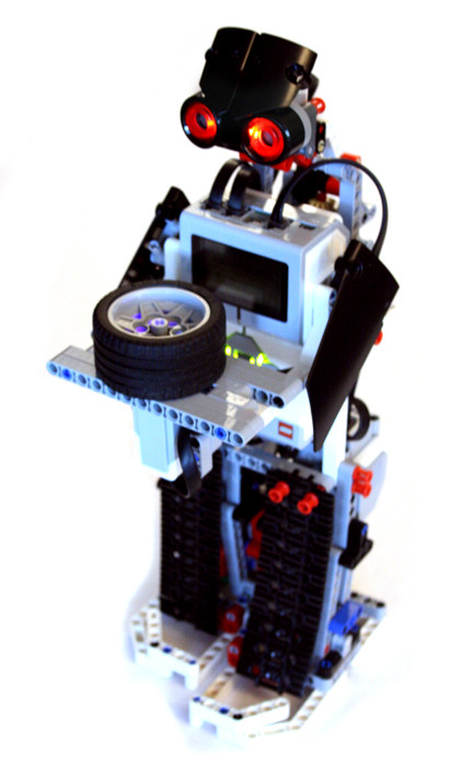 EV3 Biped robot that serves tea, as ancient japanese karakuri