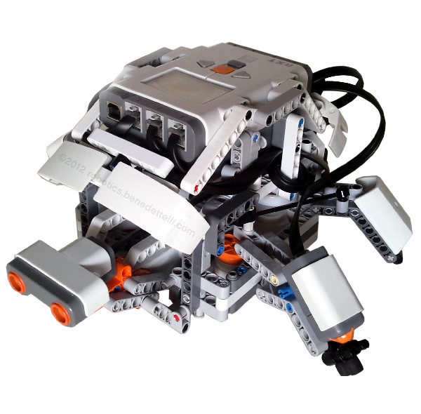 A robotic turtle made with LEGO MINDSTORMS NXT 2.0