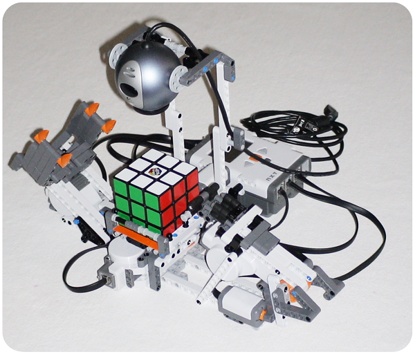 The First Nxt Lego Rubiks Cube Solver Dannys Lab