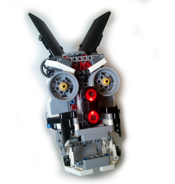 Build A Lego Ev Animatronic Head