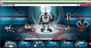 LEGO MINDSTORMS EV3 programming software