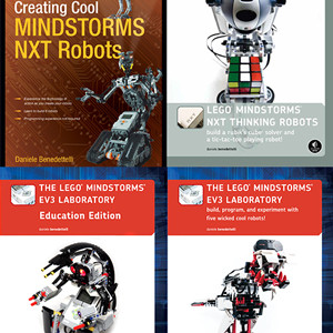 My LEGO MINDSTORMS books