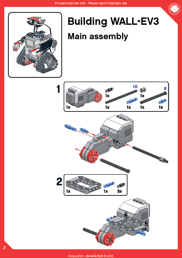 ev3 wall e instructions pdf