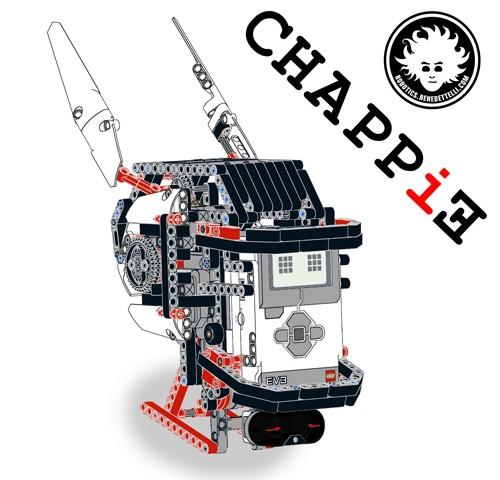LEGO EV3 CHAPPiE head
