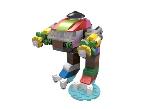 Build a LEGO robot with set 10692