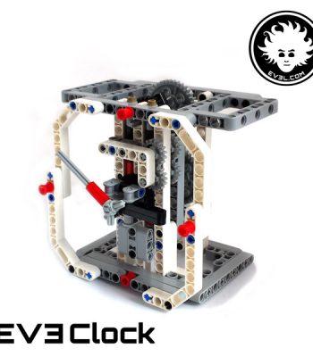 LEGO analog clock built with EV3