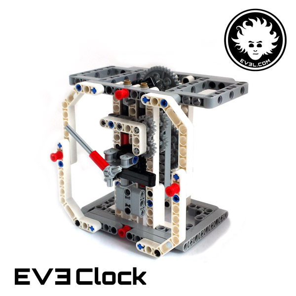 LEGO analog clock built with EV3