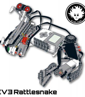 LEGO MINDSTORMS EV3 rattlesnake