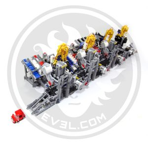 LEGO Car Factory perspective view