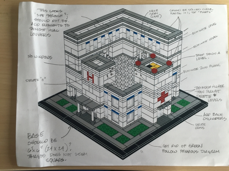 Lego Hospital Microscale Model Dannys Lab