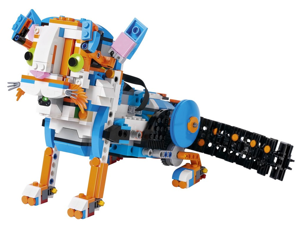 LEGO BOOST 17101 Frankie the cat building instructions