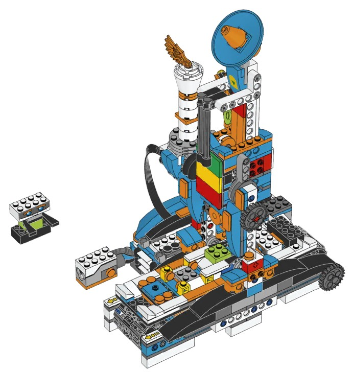 Lego Boost 17101 Building Instructions Dannys Lab