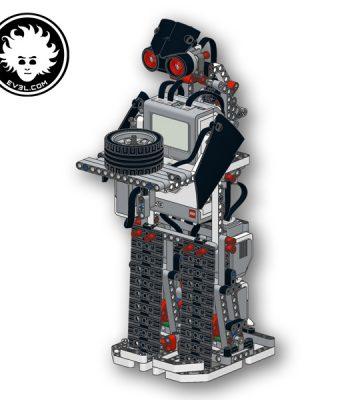 LEGO MINDSTORMS EV3 Biped robot (education set 45544)
