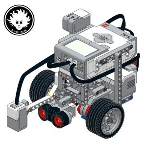A simple and quick-to-build LEGO MINDSTORMS EV3 robot built with the core set 45544