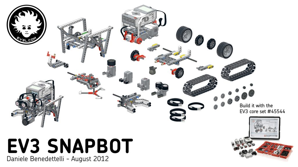 lego mindstorms ev3 projects instructions