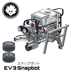 SNABPBOT is a LEGO MINDSTORMS EV3 robot based on modules that can be combined in more than 100 ways