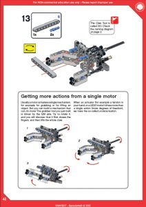 LEGO MINDSTORMS EV3 project building instructions sample