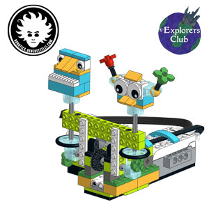 LEGO WeDo 2.0 cheerful fans model