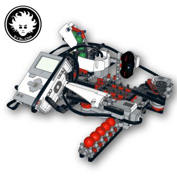 TIC TAC TO3 is a LEGO MINDSTORMS robot with artificial intelligence