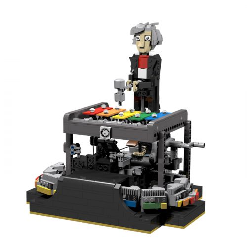LEGO automaton that can play programmable tunes on a glockenspiel