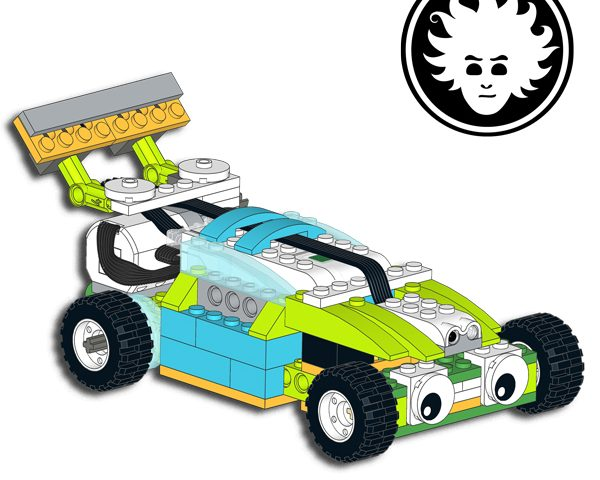 LEGO WeDo 2 0 Racing Car | Danny's LAB