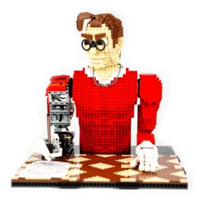 LEGONARDO è un robot che sa disegnare il tuo ritratto
