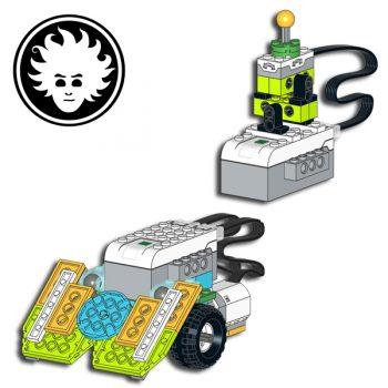 LEGO WeDo 2.0 Sumo robot controled by remote joystick