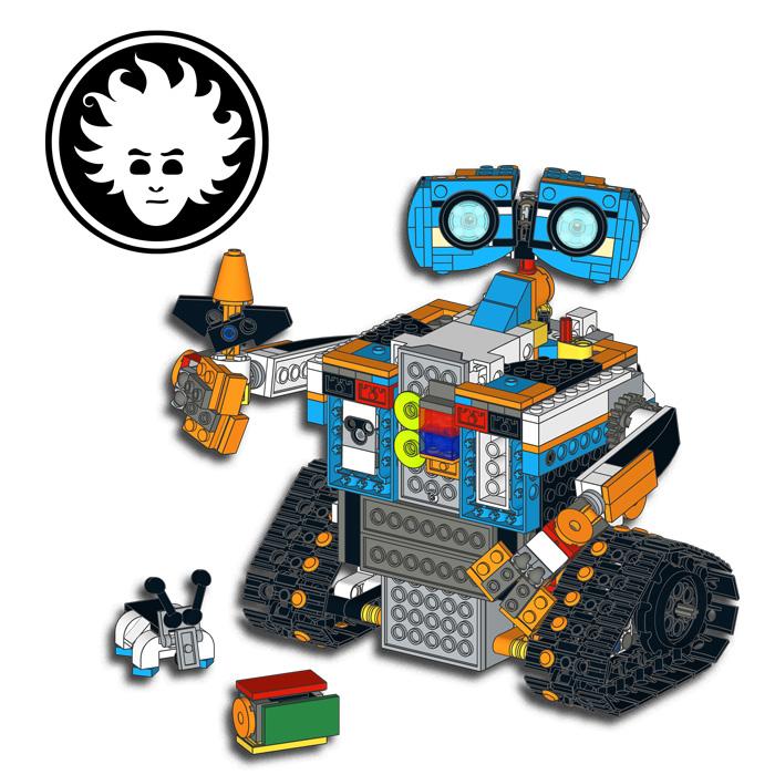 LEGO WALL-E built with LEGO BOOST Creative Toolbox set 17101