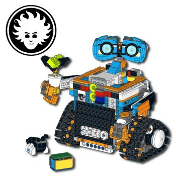 Custom LEGO BOOST model: LEGO WALL-E built with LEGO BOOST Creative Toolbox set 17101